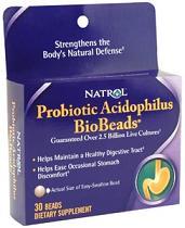 Image of BioBeads Probiotic Acidophilus