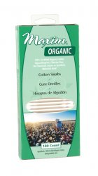 Image of Organic Cotton Swabs Matchbox Pack