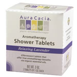 Image of Aromatherapy Shower Tablets Relaxing Lavender