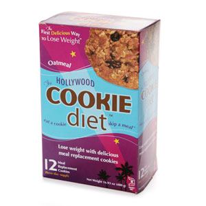 Image of Hollywood Cookie Diet Oatmeal