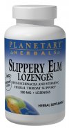Image of Slippery Elm Lozenges 150 mg Tangerine