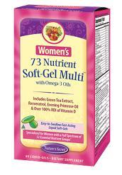 Image of Women's 73 Nutrient Soft-Gel Multi