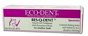 Image of Res-Q-Dent Natural Gel Toothpaste for Sensitive Teeth