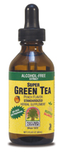 Image of Super Green Tea Peach Flavor, Alcohol Free