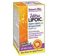 Image of Ultra Lipoic Bi-Layered Tablets 500 mg with 100 mg R-Lipoic Acid