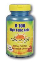 Image of B-100 High Folic Acid