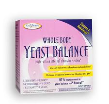 Image of Whole Body Yeast Balance (triple action internal cleansing system 10-day)
