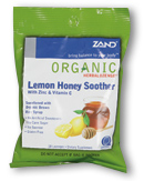 Image of HerbaLozenge Organic Lemon Honey Smoother