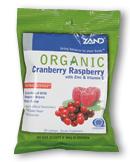 Image of HerbaLozenge Organic Cranberry Raspberry