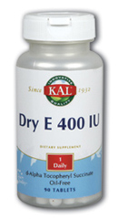 Image of Dry E 400 IU Oil Free