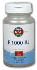 Image of E 1000 IU d-Alpha Tocopherol