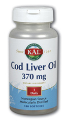 Image of Cod Liver Oil 370 mg