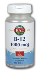 Image of B12 1000 mcg Sustained Release