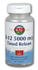 Image of B12 5000 mcg Timed Release