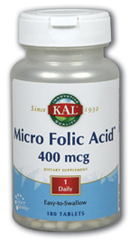 Image of Folic Acid 400 mcg Micro