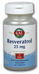 Image of Resveratrol 25 mg