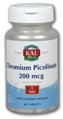Image of Chromium Picolinate 200 mcg Tablet
