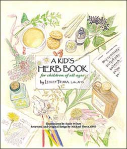 Image of A Kid's Herb Book for Children of All Ages - Lesley Tierra
