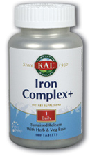 Image of Iron Complex+ Sustained Release