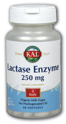 Image of Lactase Enzyme 250 mg