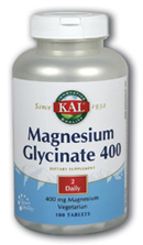 Image of Magnesium Glycinate 400 (200 mg each)