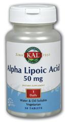 Image of Alpha Lipoic Acid 50 mg