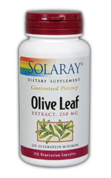 Image of Olive Leaf Extract 250 mg (22% Oleuropein)