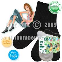 Image of Organic Casual Socks for Women Bone