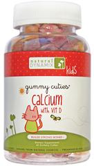 Image of Gummy Cuties Calcium with Vitamin D 200 mg/200 IU