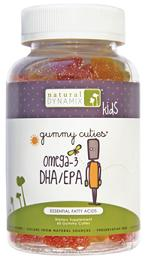 Image of Gummy Cuties Omega-3 DHA/EPA 227 mg (50/10 mg)