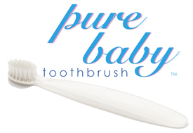 Image of Toothbrush Pure Baby Ultra Soft Bristles (6 to 18 months)