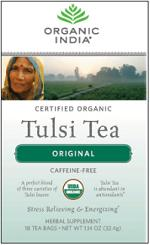Image of Tulsi Tea Organic Caffeine-Free Original