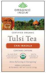 Image of Tulsi Tea Organic Chai Masala Tea