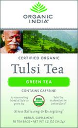 Image of Tulsi Tea Organic Green Tea