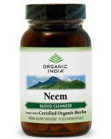 Image of Neem (Blood Cleanser) 325 mg Organic