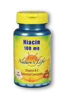 Image of Niacin 100 mg