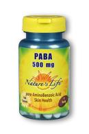 Image of PABA 500 mg