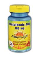 Image of Pantothenic Acid 100 mg