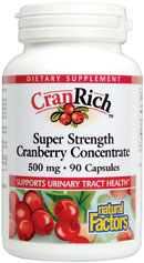 Image of CranRich Super Strength Cranberry Concentrate 500 mg