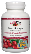 Image of CranRich Super Strength Cranberry Concentrate 500 mg ORGANIC