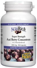 Image of AcaiRich Super Strength Acai Berry Concentrate 500 mg