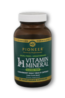 Image of 1+1 Vitamin Mineral Green Food Based Capsule Iron Free