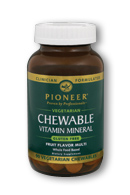 Image of Chewable Vitamin Mineral Whole Food Based Fruit Flavor