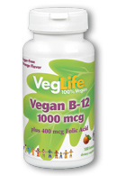 Image of Vegan B12 1000 mcg plus Folic Acid Lozenge