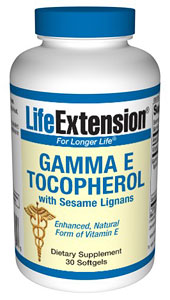 Image of Gamma E Tocopherol with Sesame Lignans