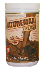 Image of NatureMax Plus Soy Protein Shake Chocolate