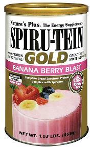Image of Spiru-Tein GOLD Shake Banana Berry Blast