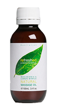 Image of Refreshed Lemon Myrtle and Macadamia Massage Oil