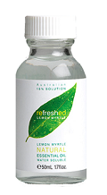 Image of Refreshed Lemon Myrtle Essential Oil 15% Solution Water Soluble
