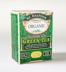 Image of Organic Green Tea Strawberry Rose